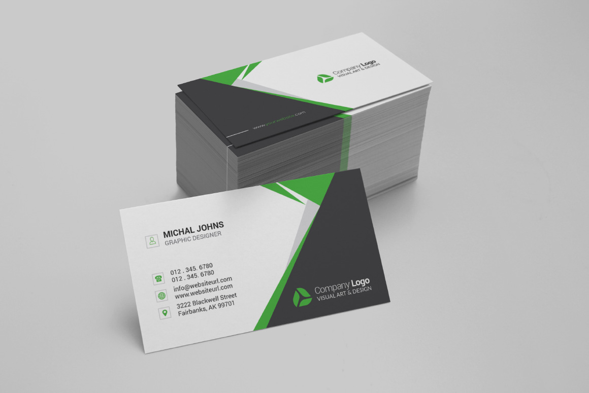 Realistic Business Card Mockups example image 7