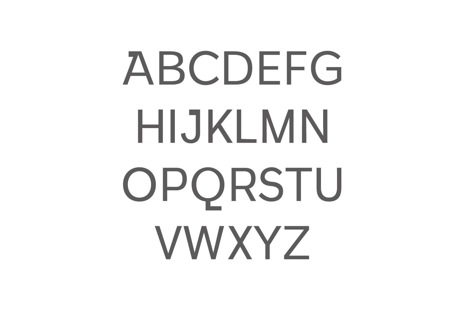 Walcot Modern Sans Serif Font example image 2