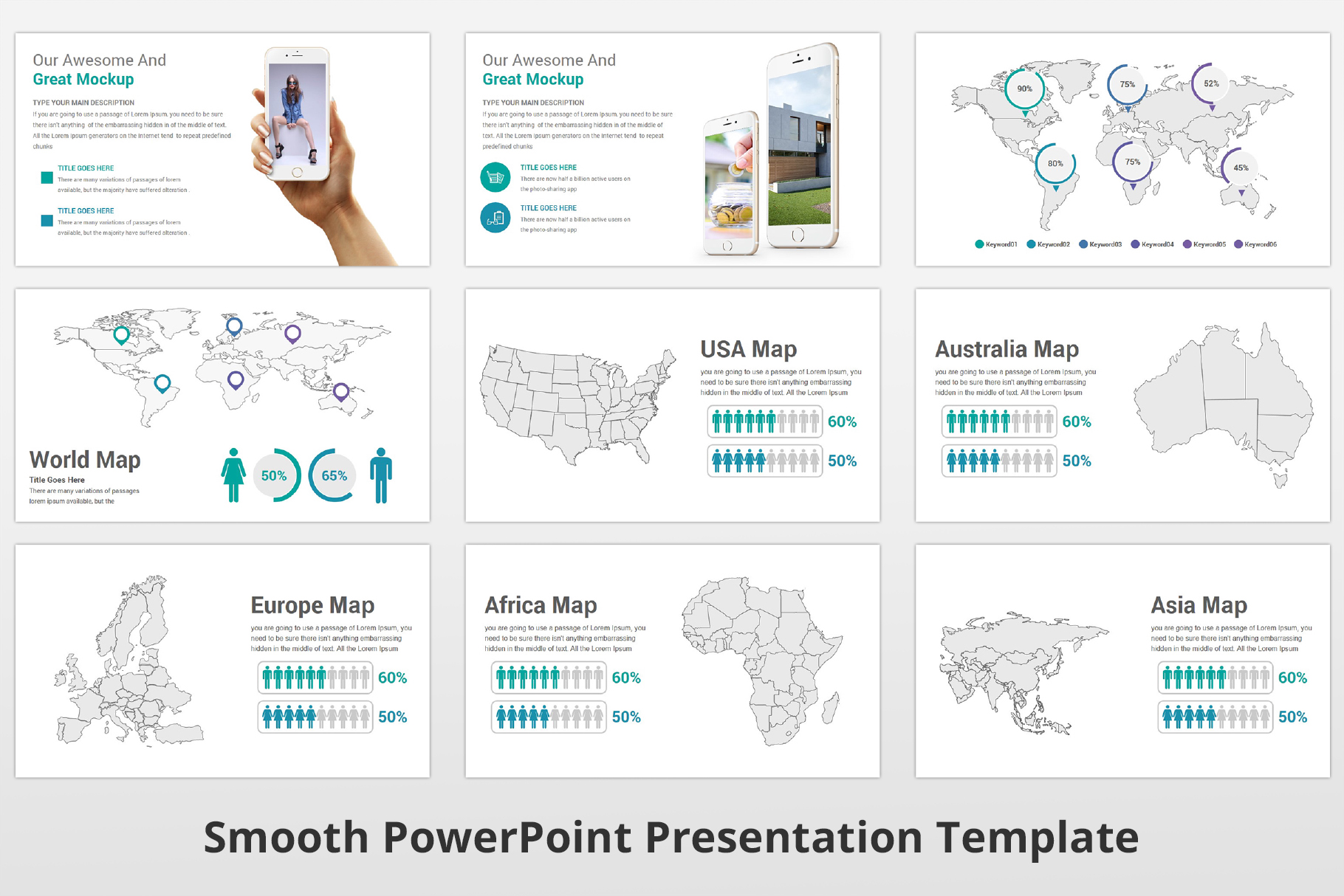 Smooth multipurpose PowerPoint Presentation Template example image 20