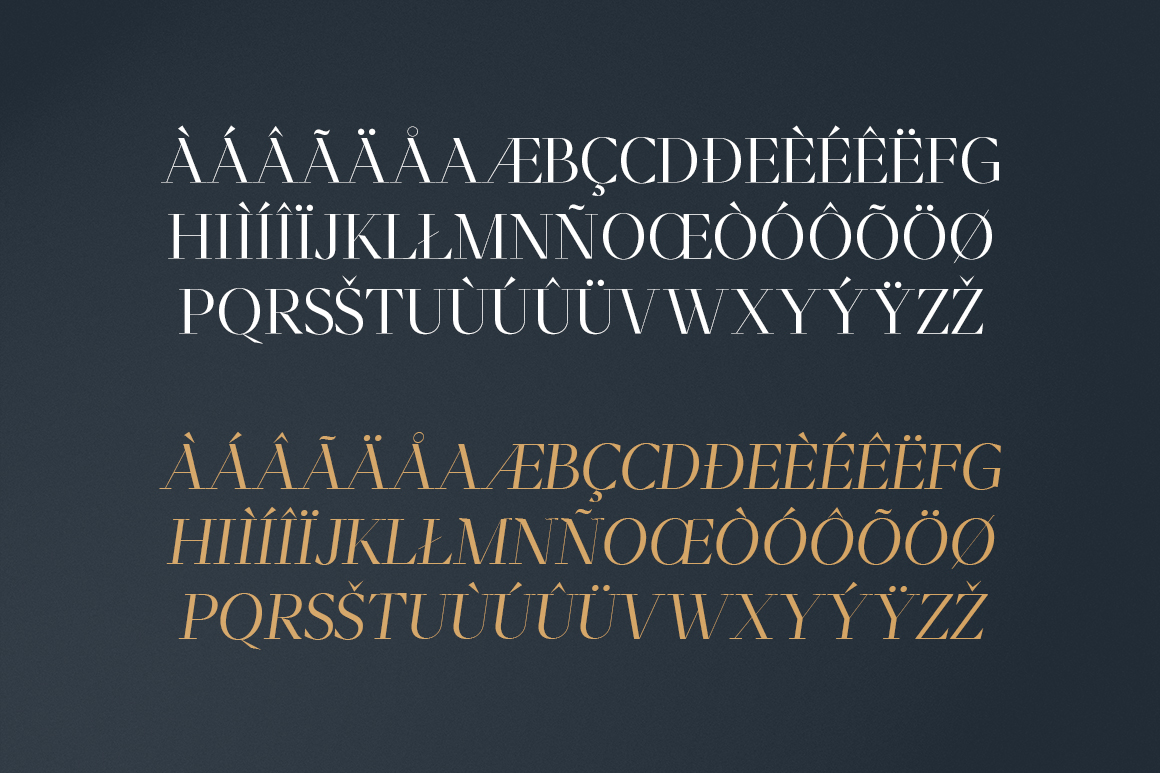 Moriarty Serif Font example image 11