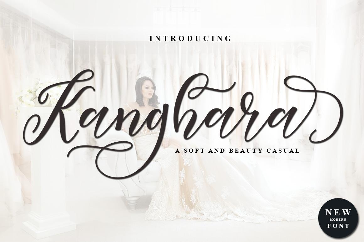 Kanghara Script example image 2
