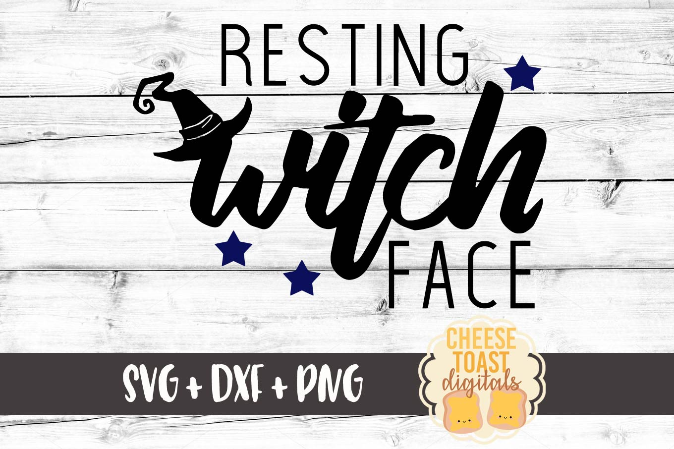 Resting Witch Face - Halloween SVG File example image 2