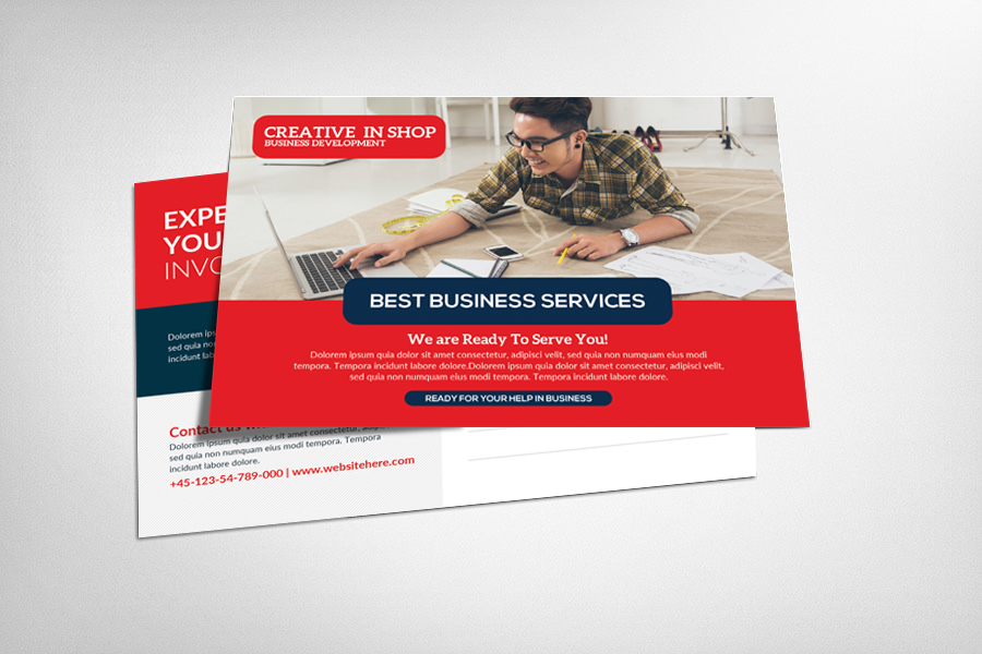 Website Design Postcard example image 1