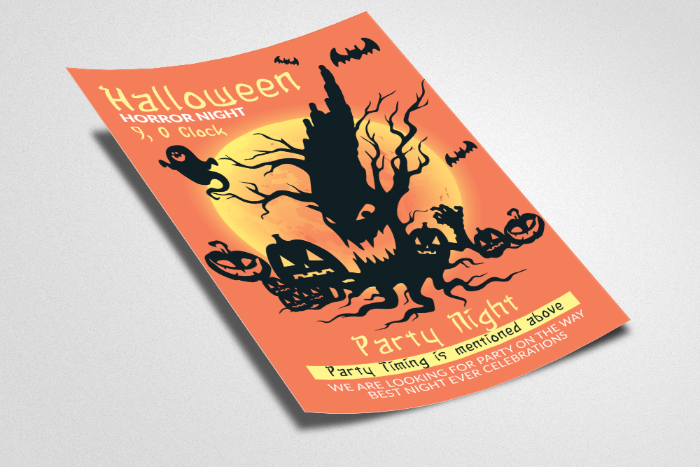 Halloween Horror Night Flyer example image 2