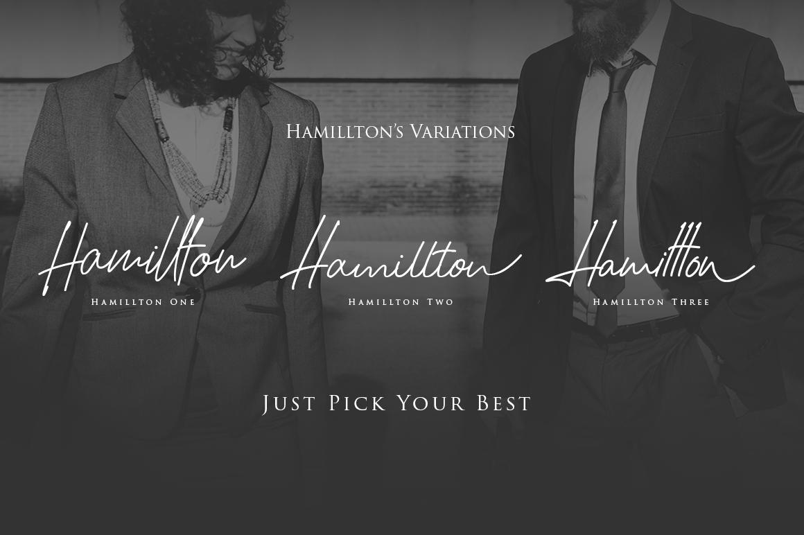 Hamillton example image 2