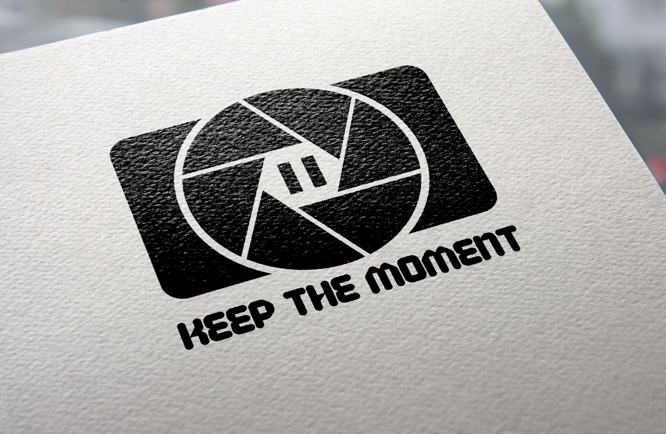 Keep The Moment Logo Template example image 5