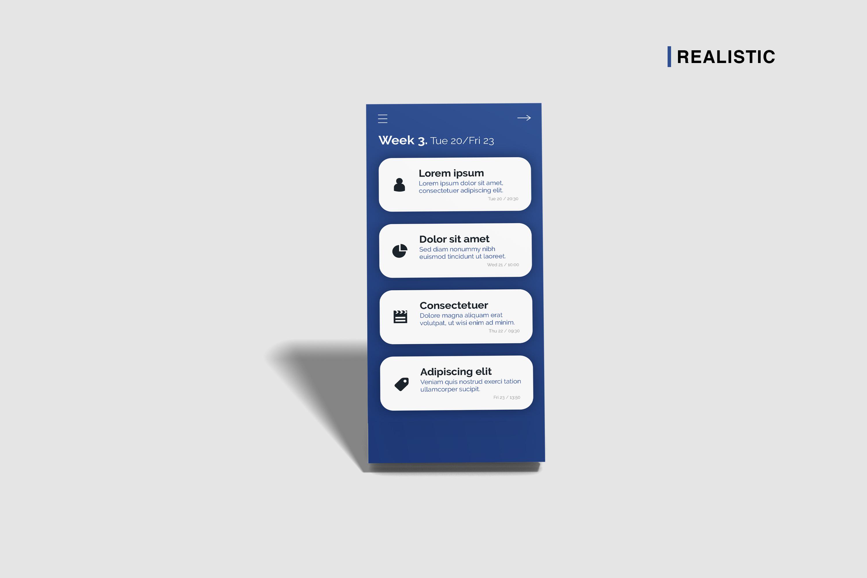 Smartphone Screen Mockup example image 3