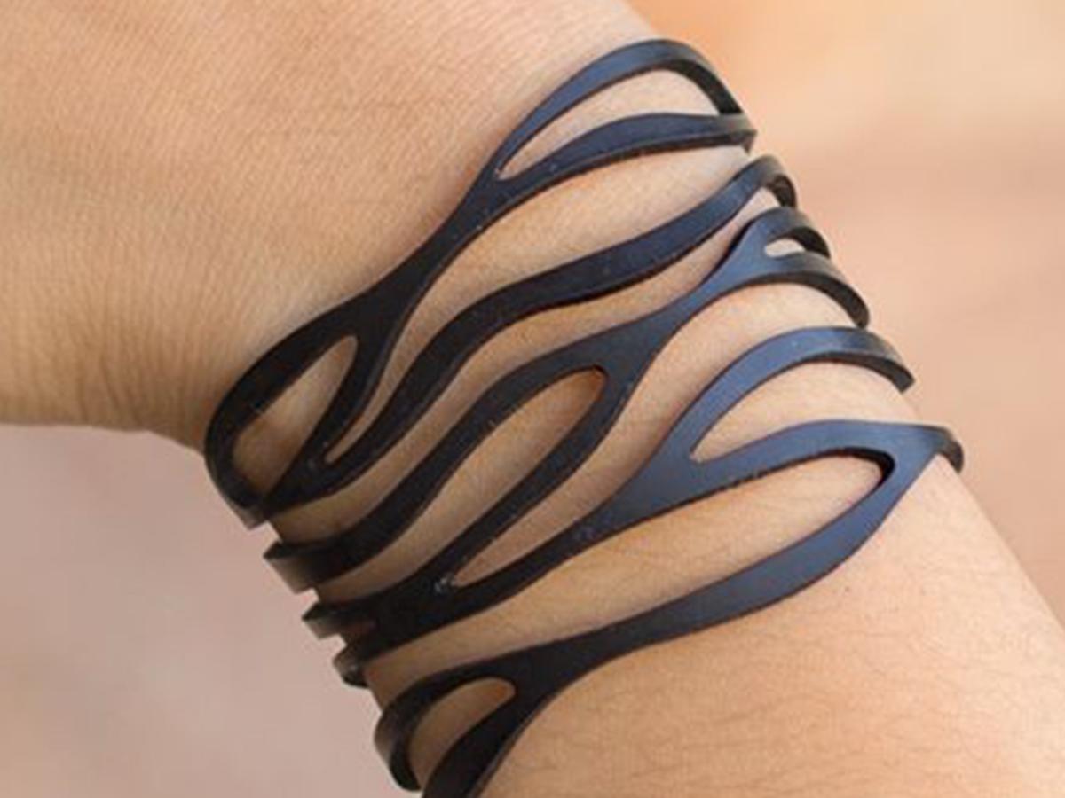 Leather Jewelry CUT Template- Earrings - Bracelets - VOL 1 example image 2