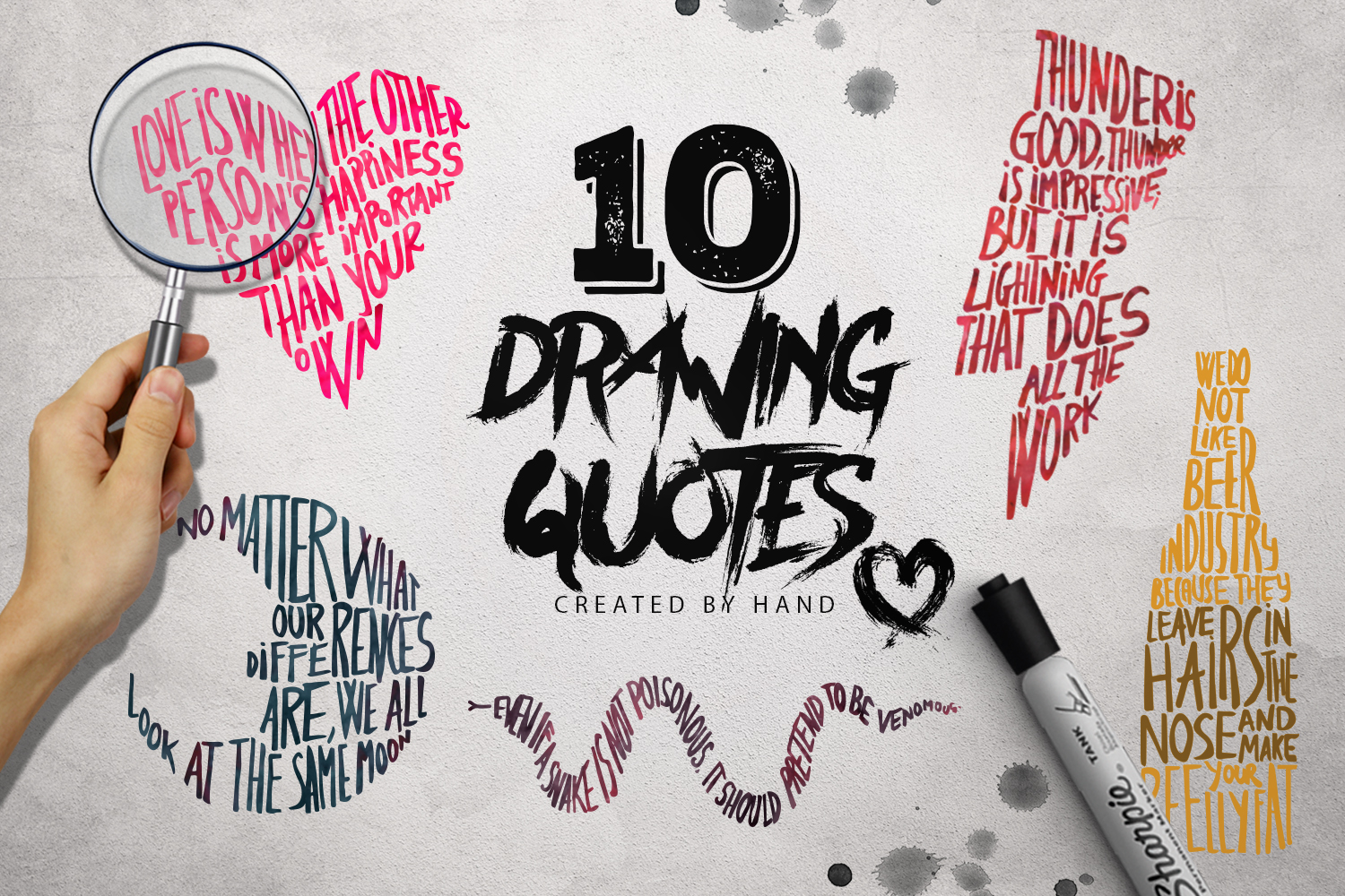10 Drawing Quotes example image 1