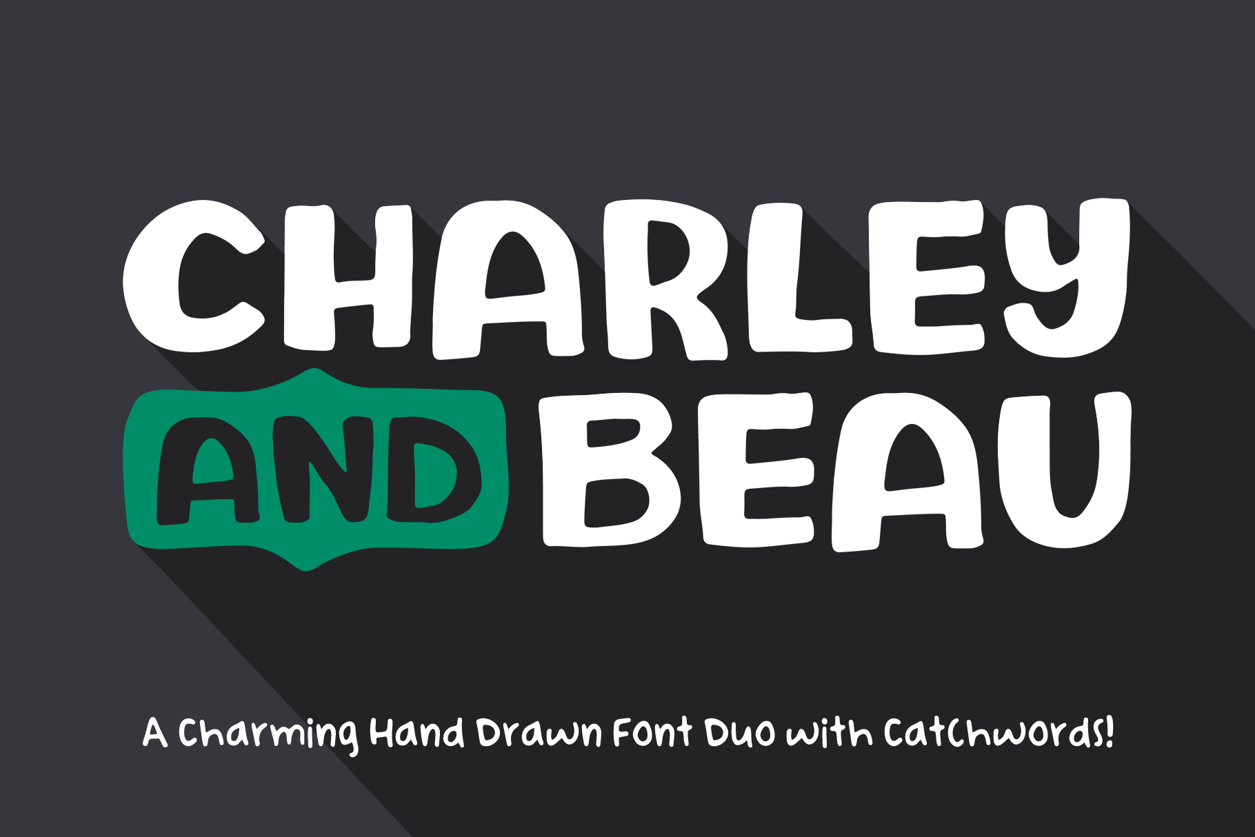 Charley and Beau Font Duo example image 1