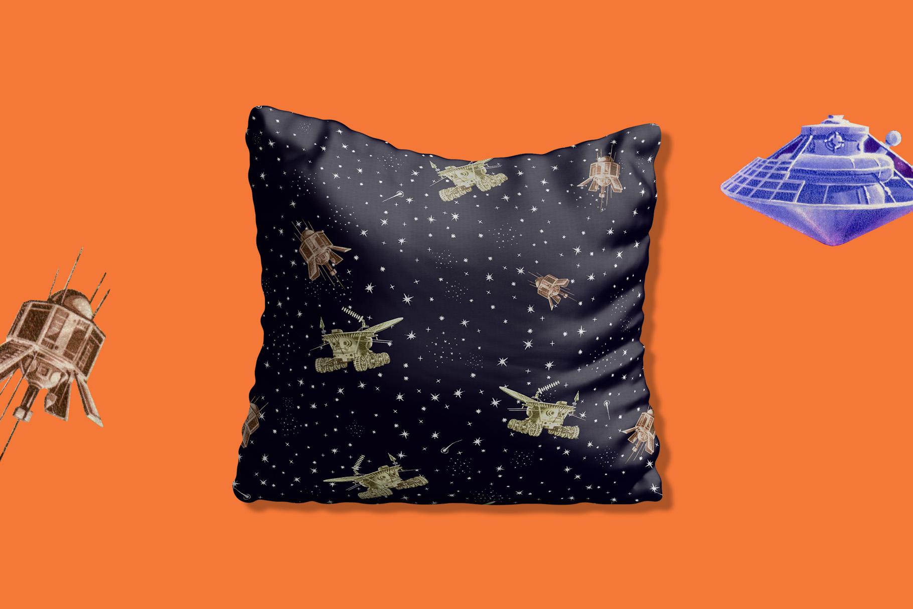 Gagarin - Patterns & Illustrations example image 5
