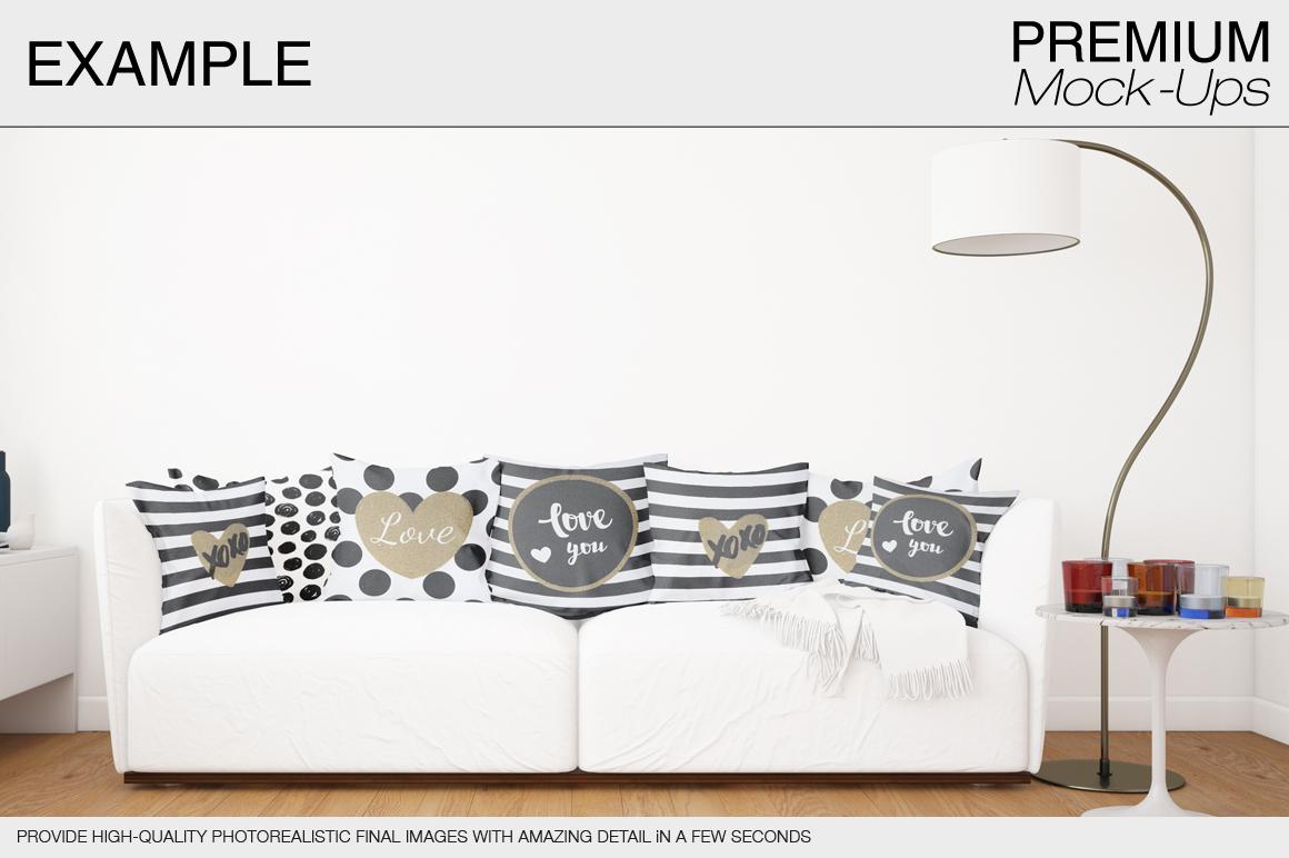 Pillow Mockup Set example image 5