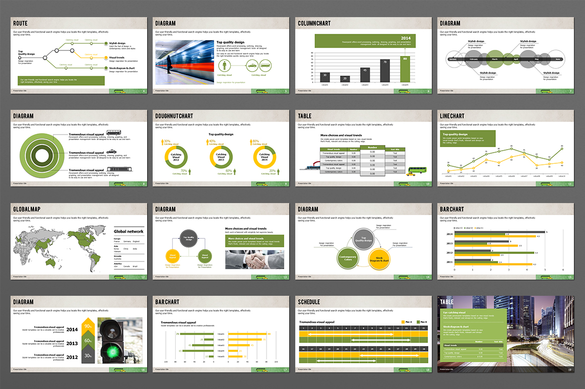 Transportation PPT Template example image 3