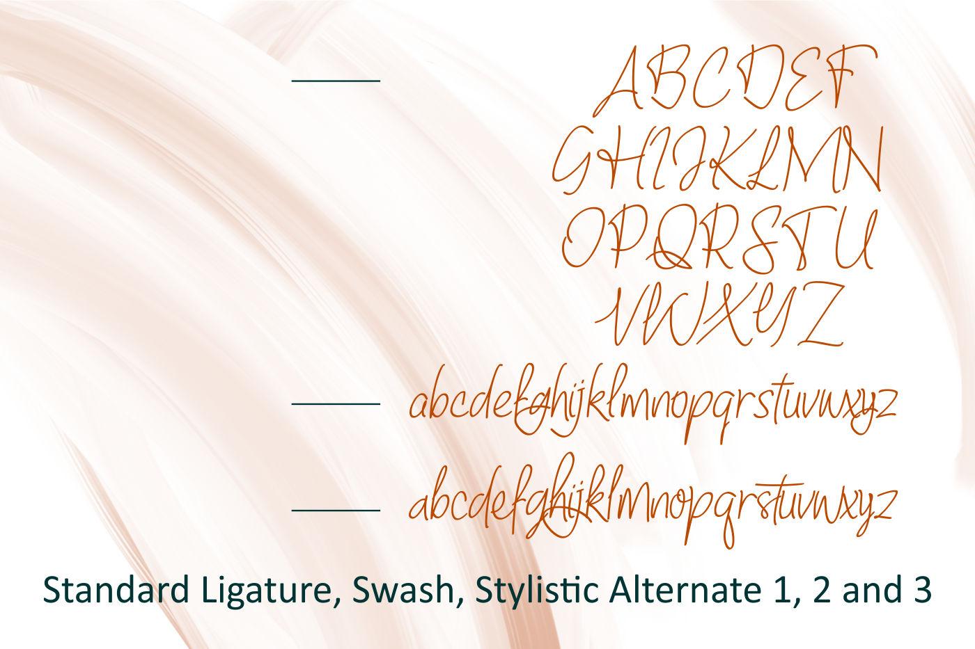 Baltigo Modern Handwritten example image 6