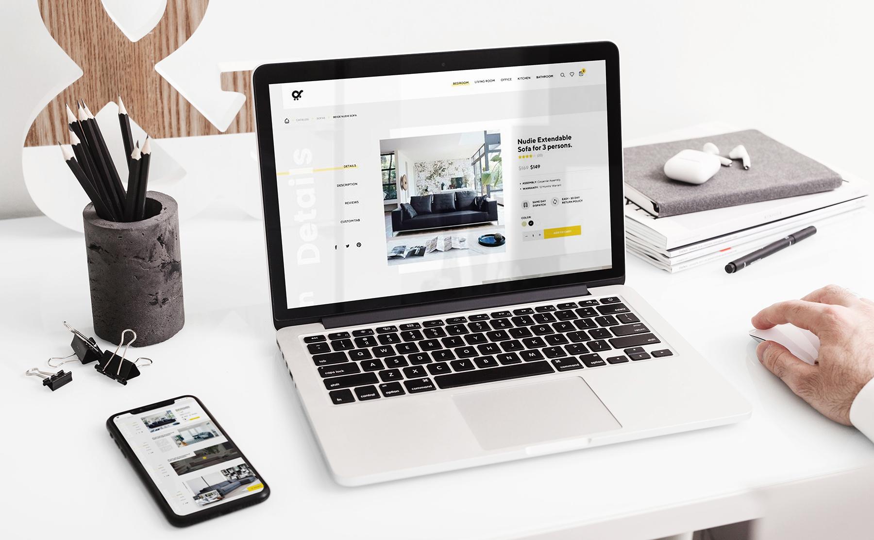 MacBook Pro Responsive Mock-Up example image 7