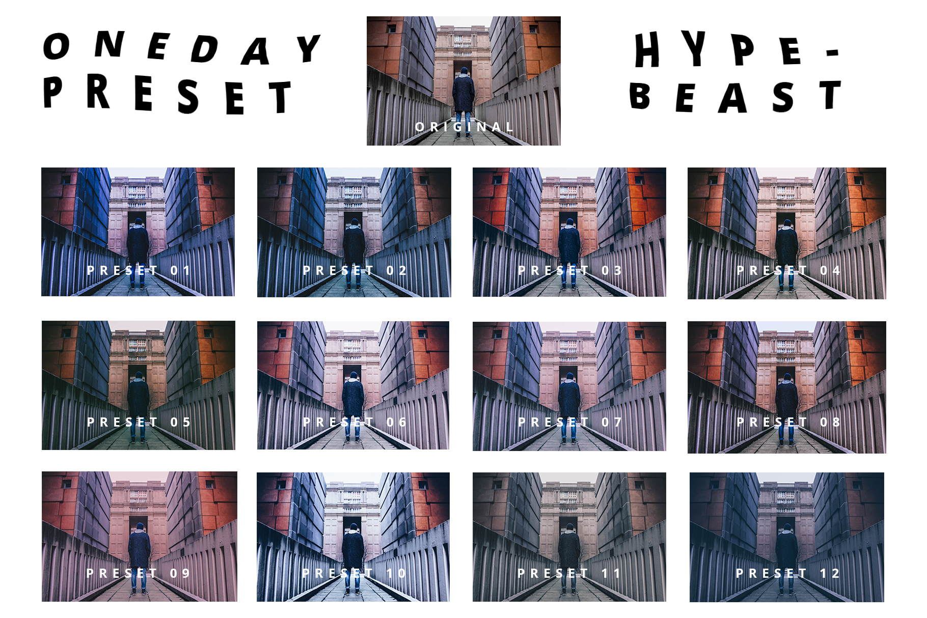 Oneday Hypebeast Lightroom preset example image 13