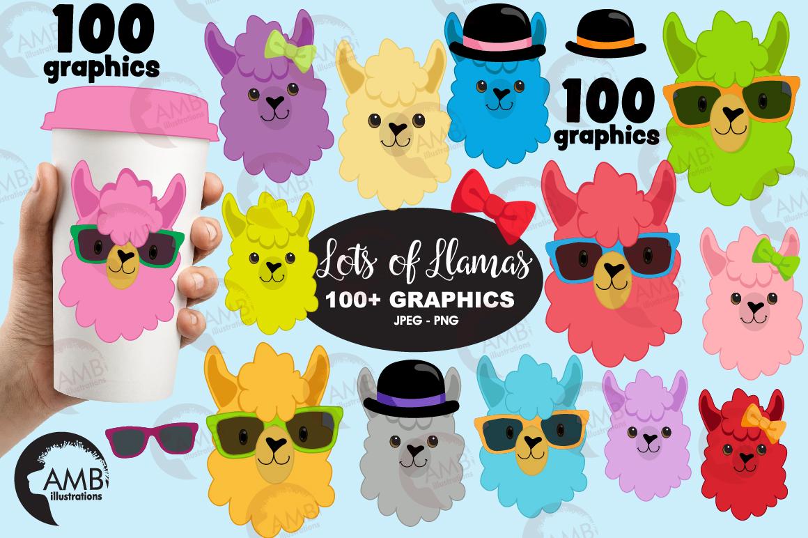100 LLamas, 100 Alpacas! AMB-2100 example image 1