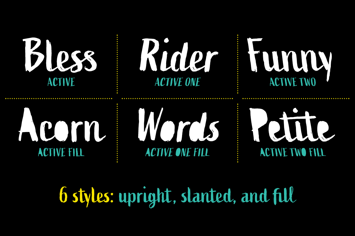 Active Font Family example image 2