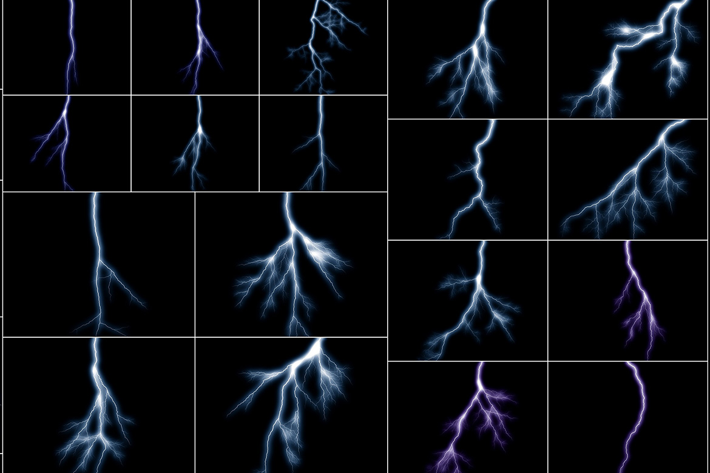 100 Lightning Overlays Vol. 3 example image 5