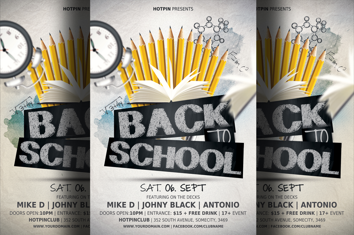 Back to School Flyer example image 1