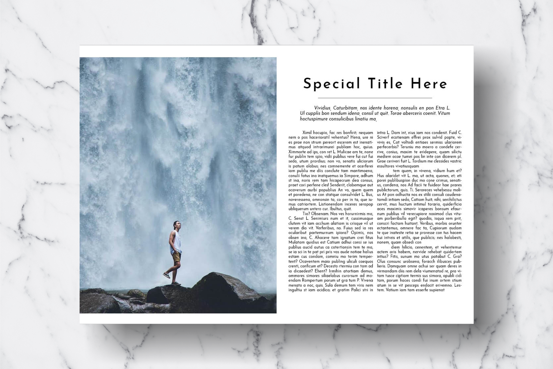 Magazine Template Vol. 18 example image 10