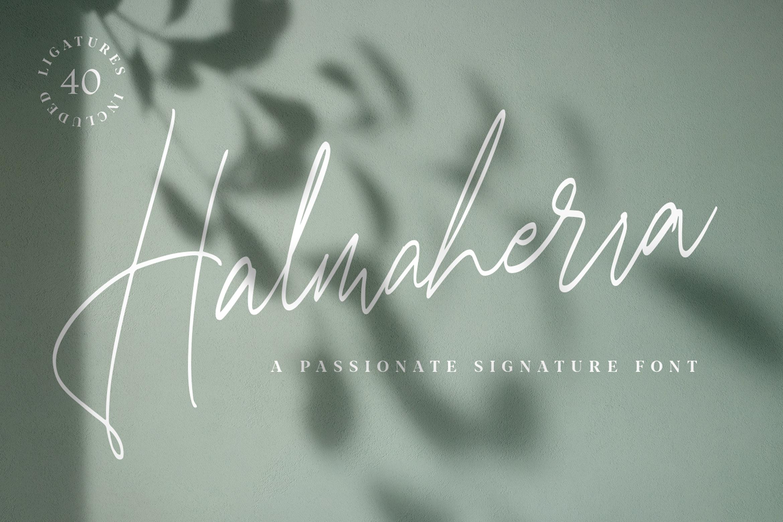 Halmaherra Signature example image 2