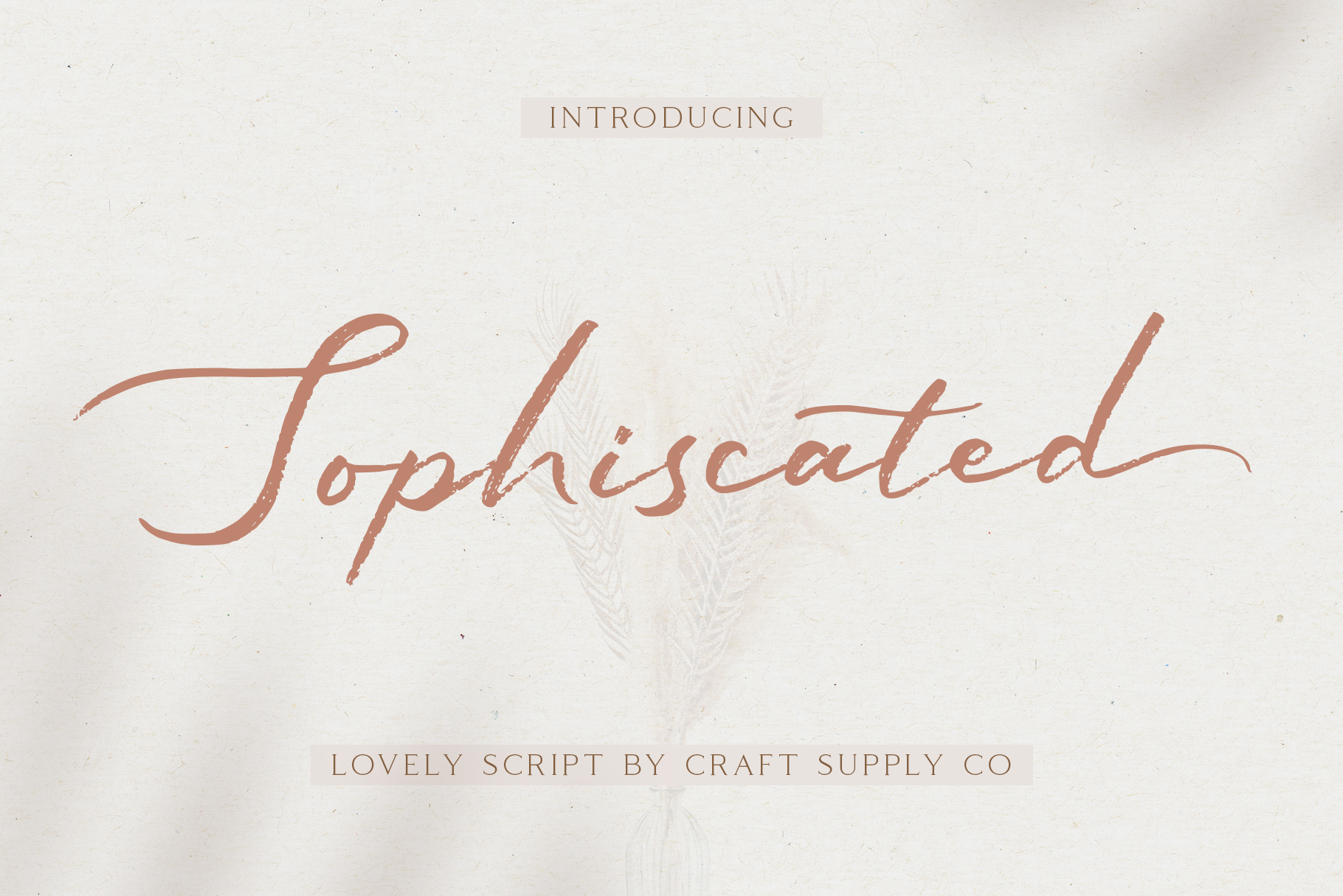 Sophiscated - A Lovely Script Font example image 1
