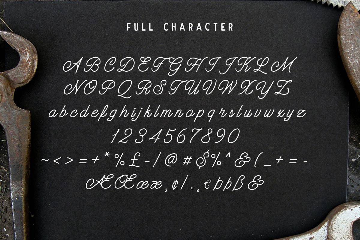 Hatterline Font + Sans example image 5