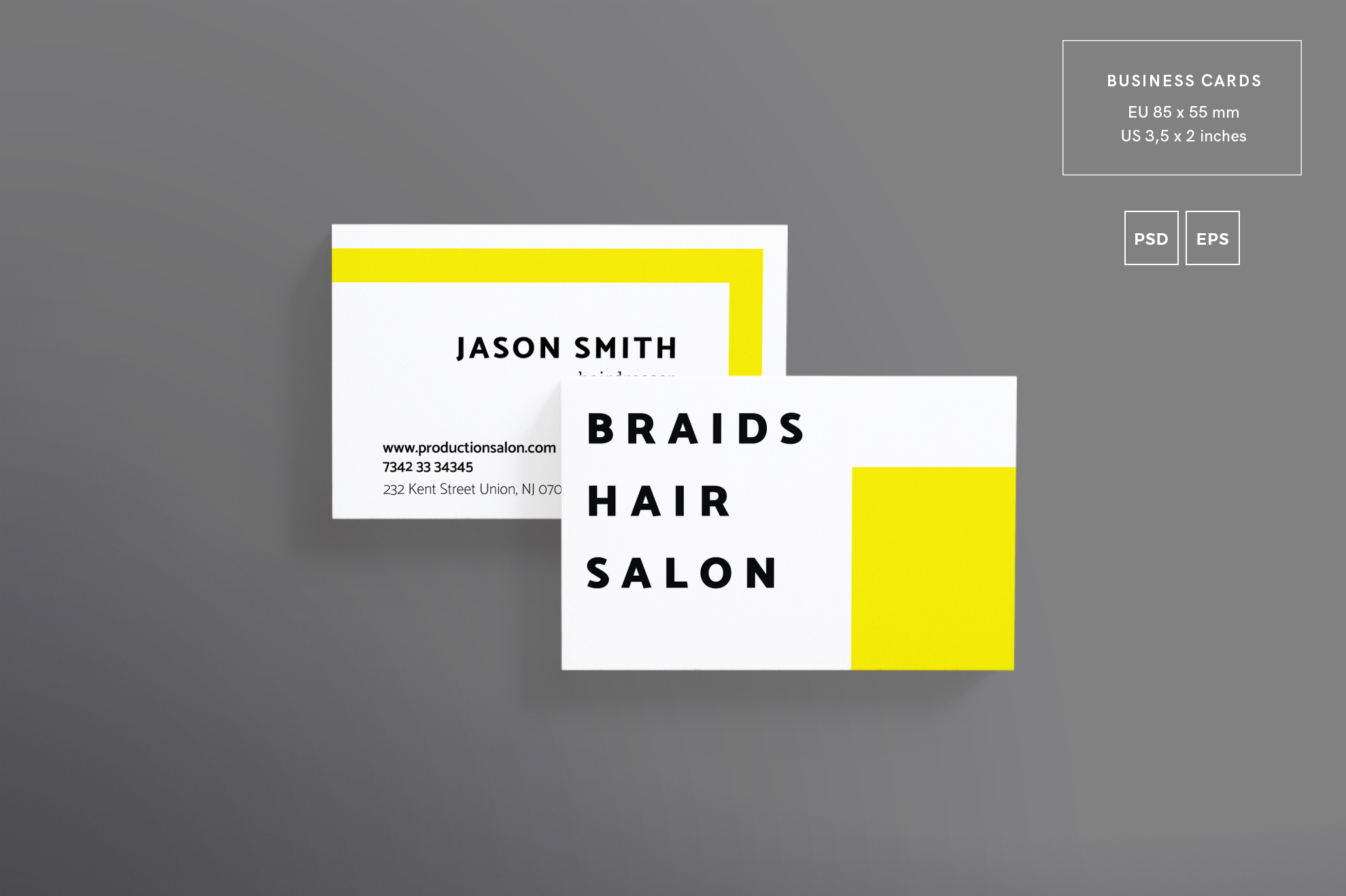 Hair Salon Barbershop Design Templates Bundle example image 2