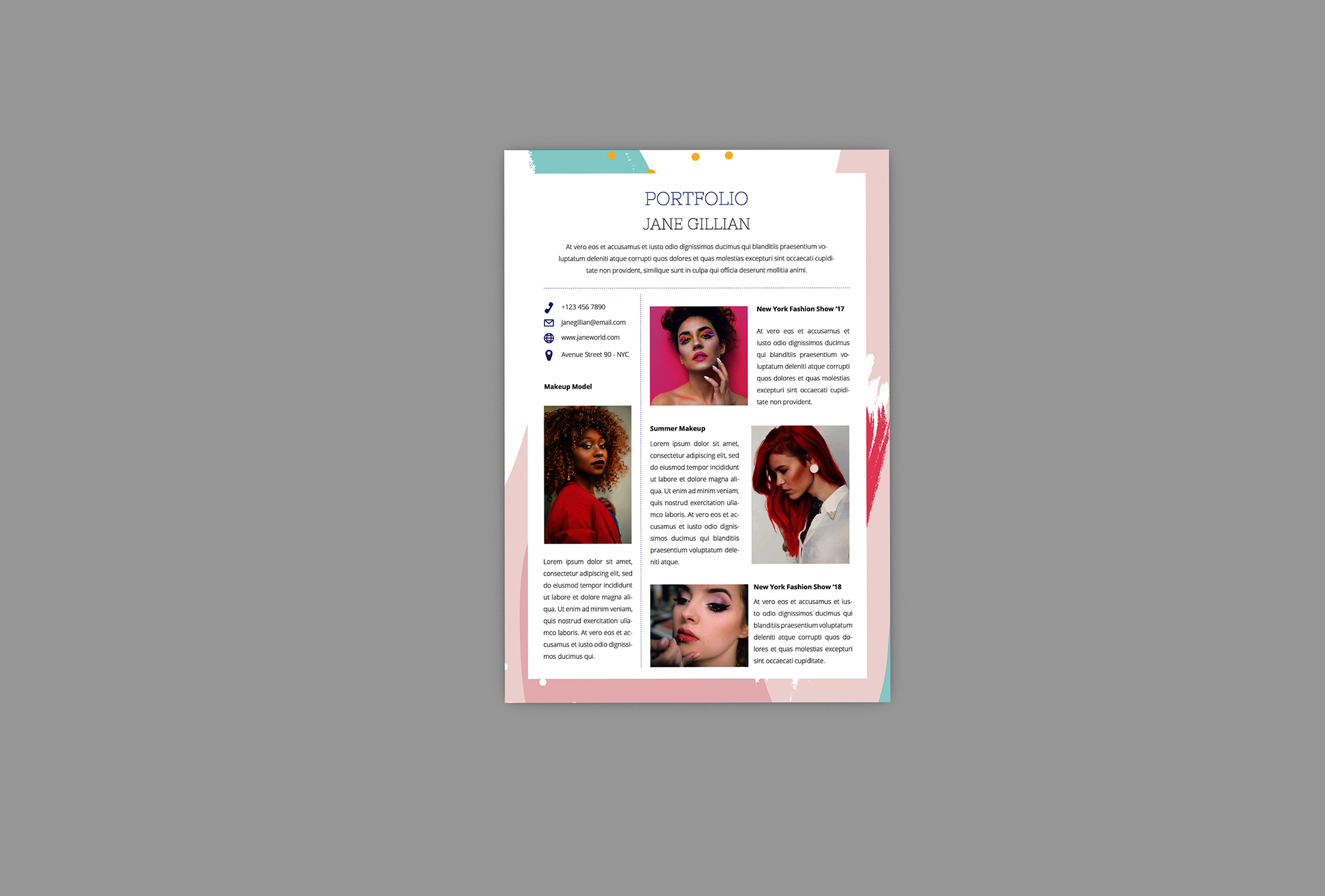 Dictionary Resume Designer example image 2