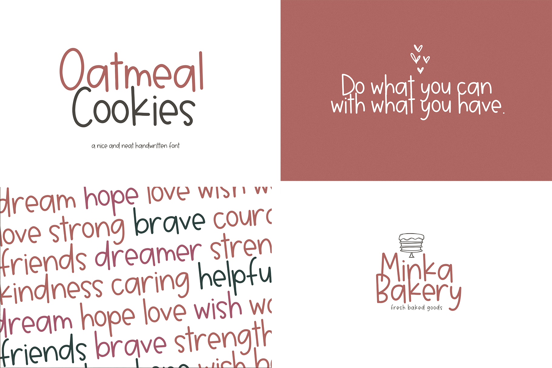 Font Bundle - Handwritten Fonts for Crafters! example image 10