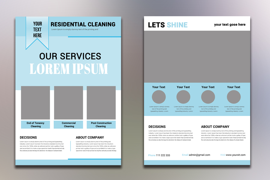 Residential Cleaning Flyer example image 2