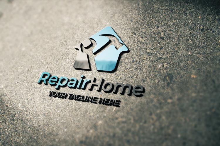 Home Repair Logo example image 2