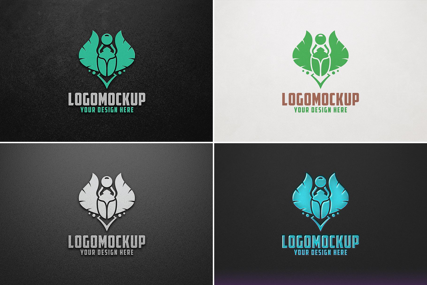 100 Logo Mockups Bundle Vol.4 example image 22