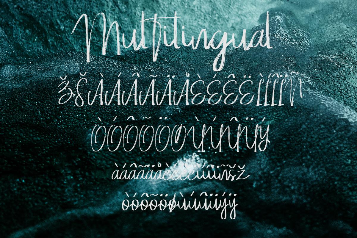 Whisper Brushes Script Font example image 12