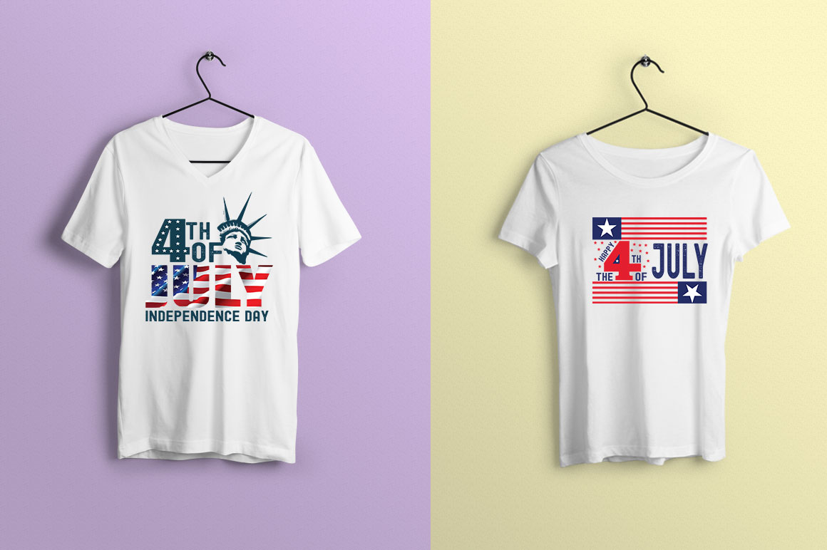 US States 4th July design Element svg example image 11