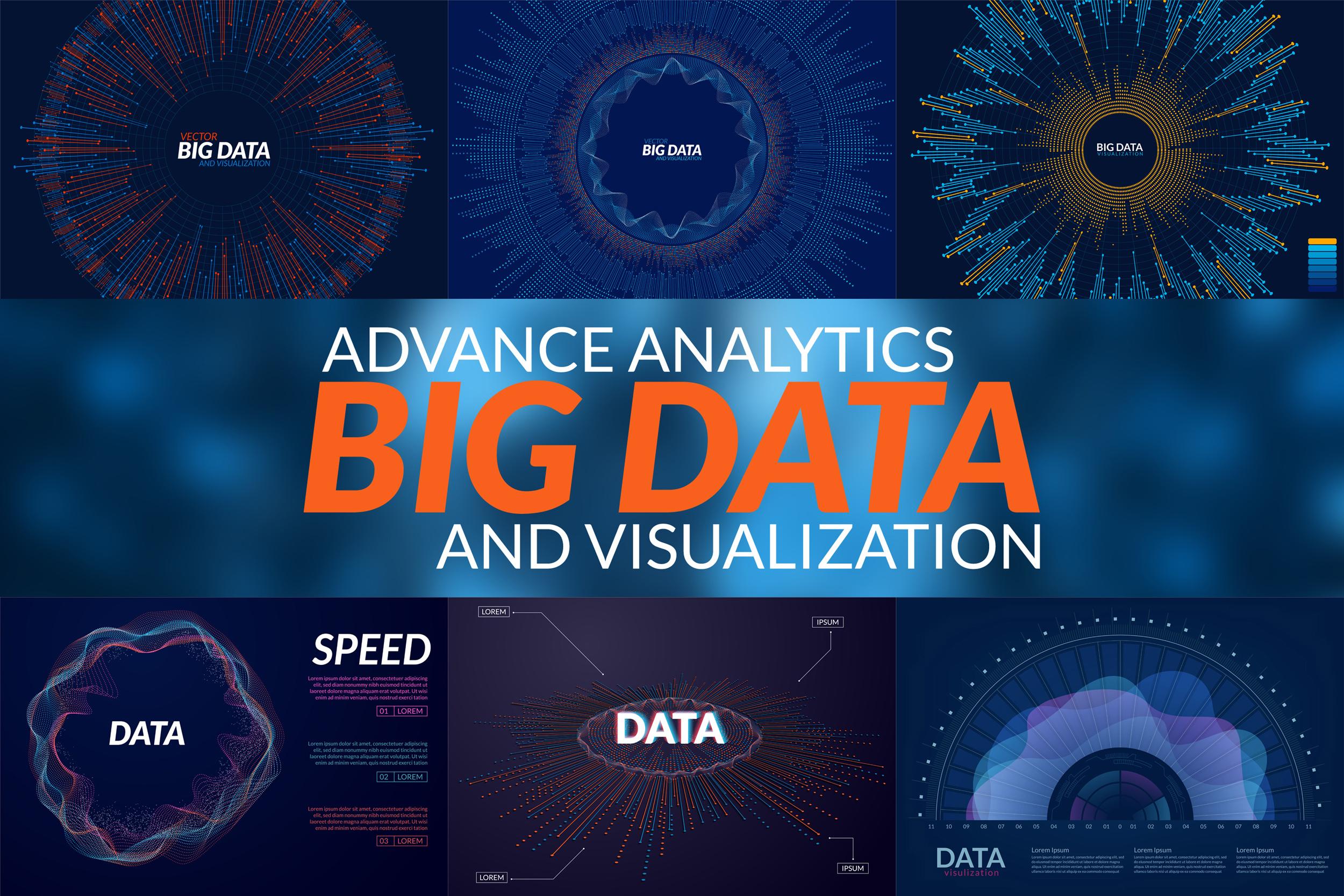 Big Data Backgrounds example image 1