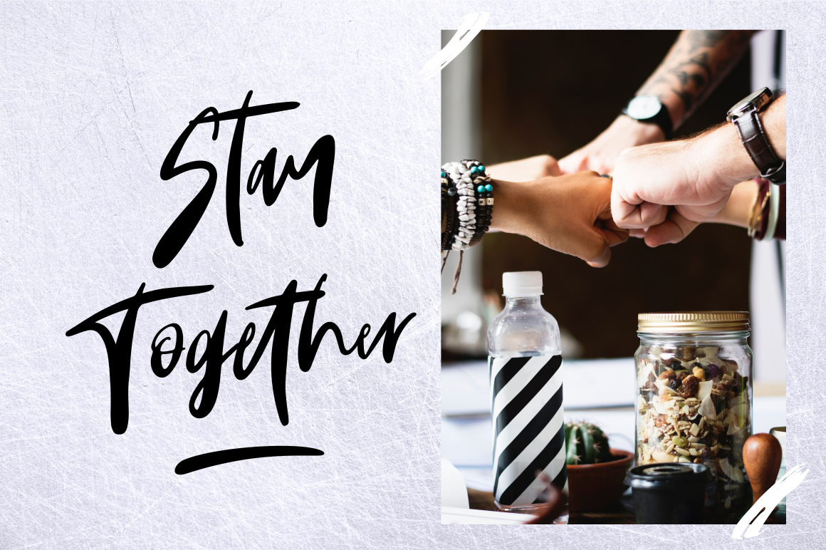 Monday Vibes - Handwritten Font example image 2