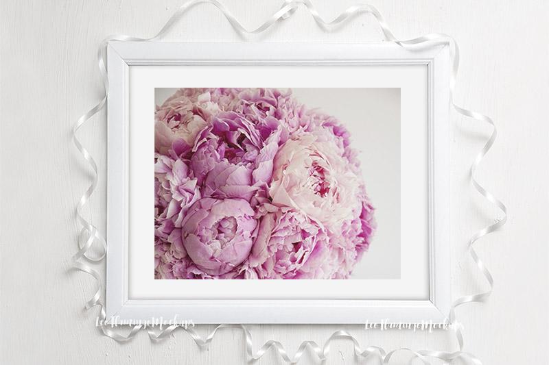 Frame mockup White 8x10 horizontal wedding picture mock up example image 3