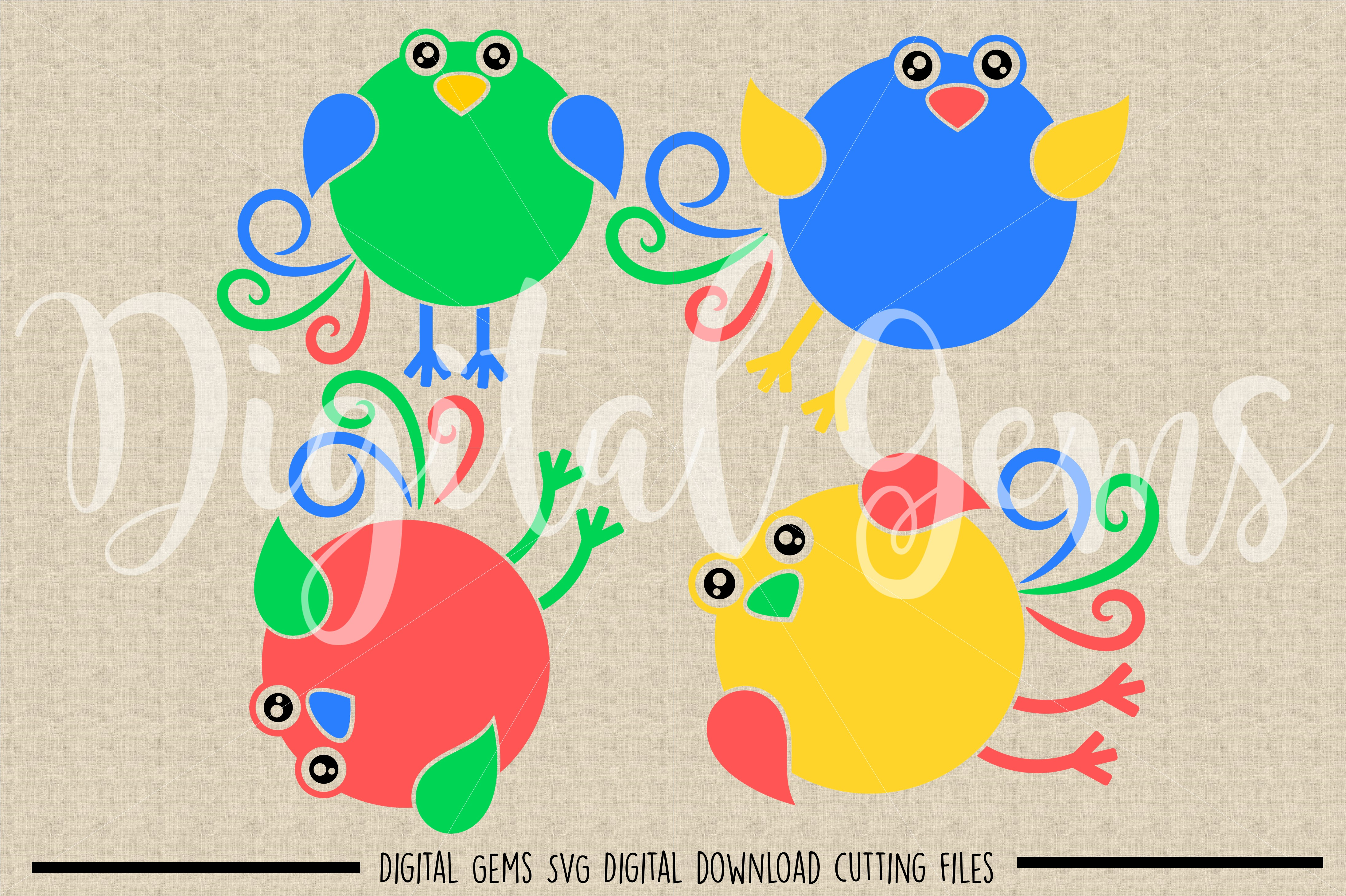 Bird SVG / DXF / EPS / PNG files example image 2