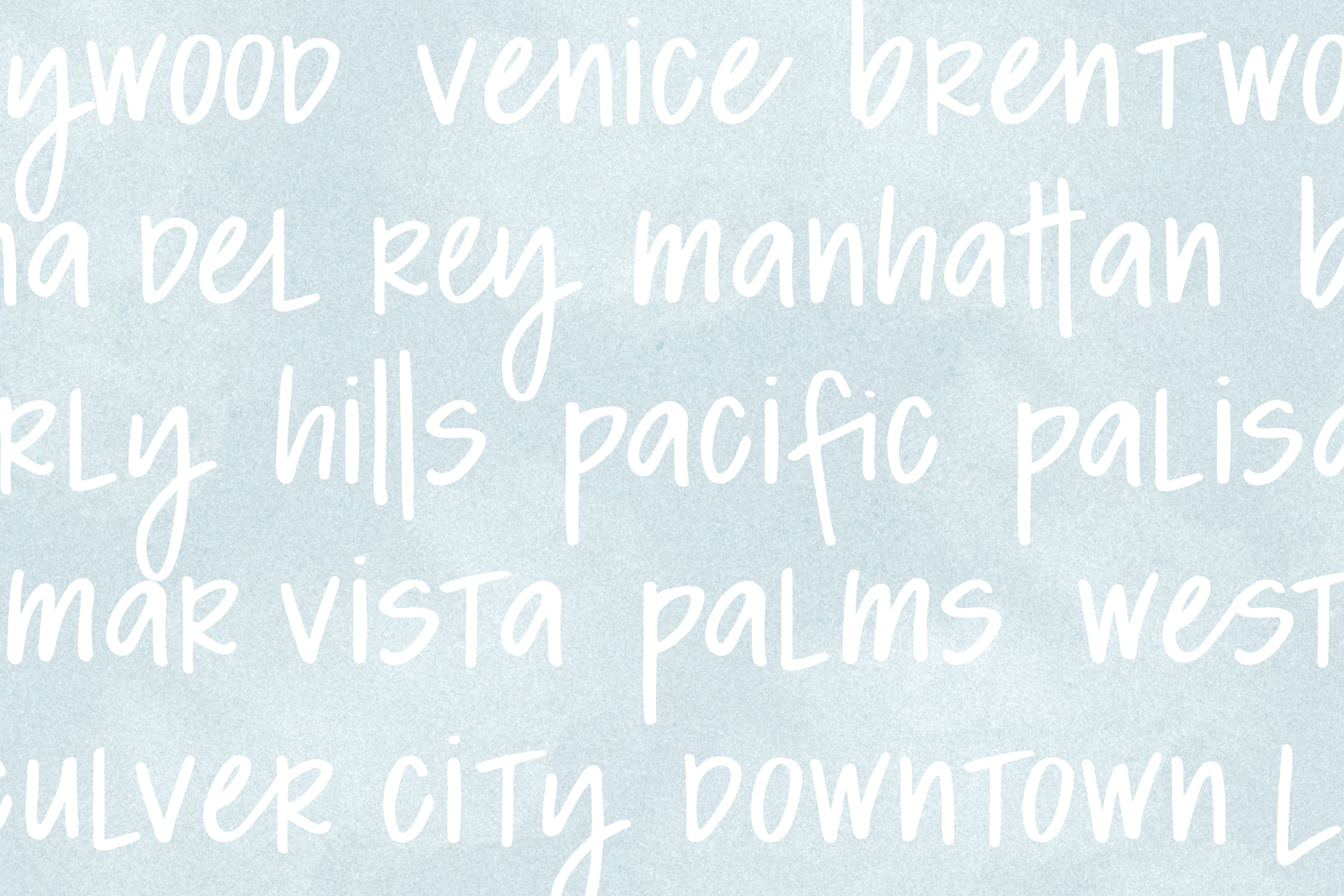 California Dreamin' Font example image 5