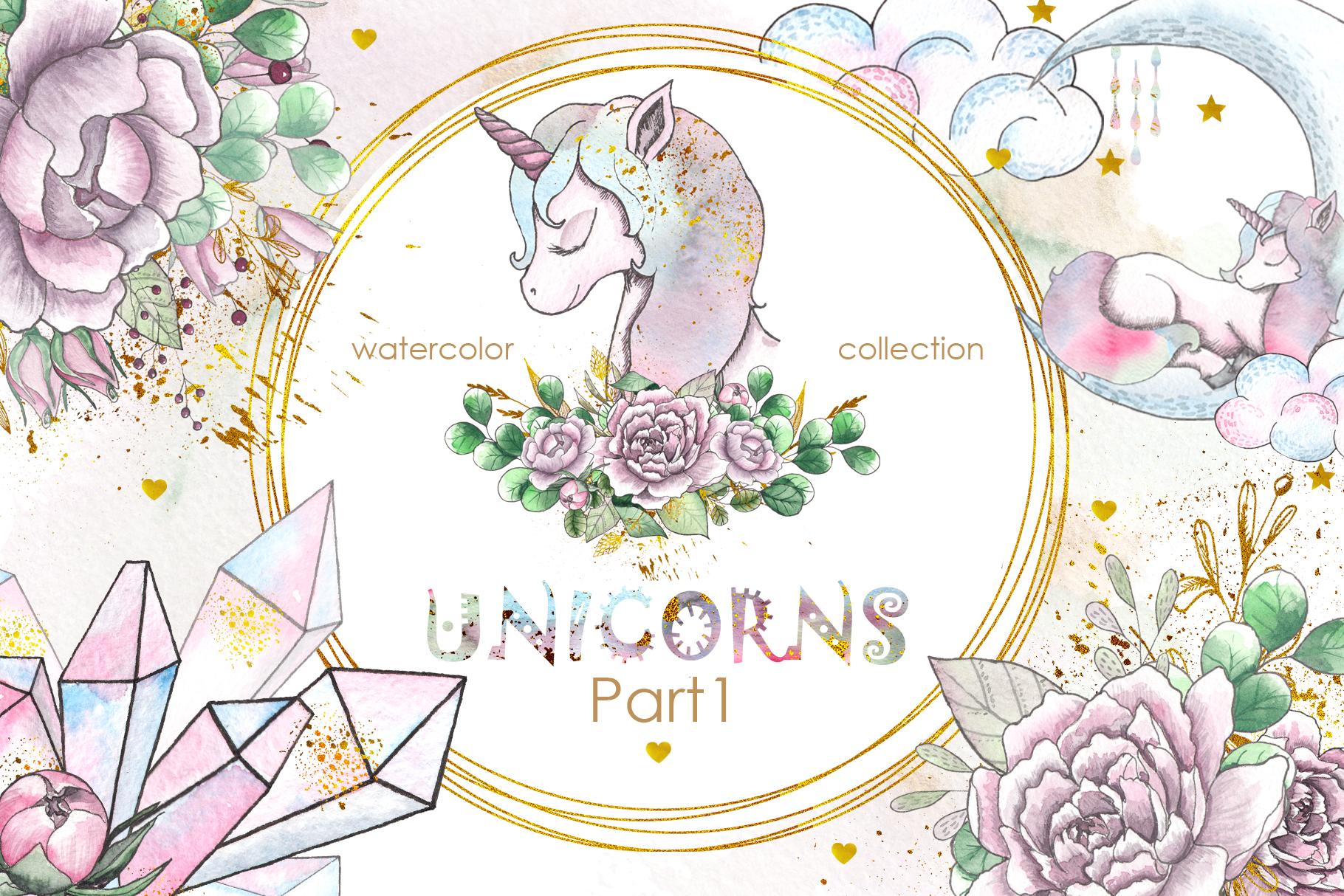 Charming Unicorns Bundle example image 14