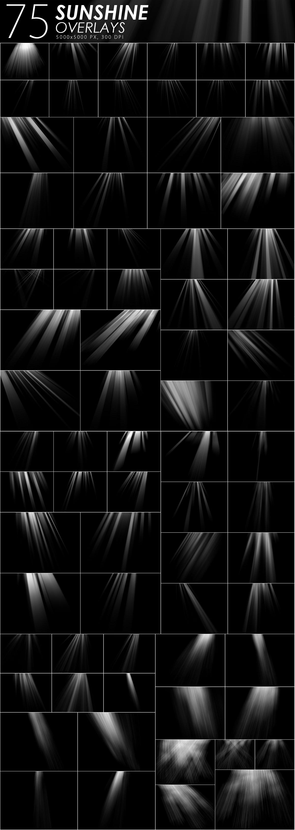 405 Light Rays, Leak, Flare Overlays example image 7