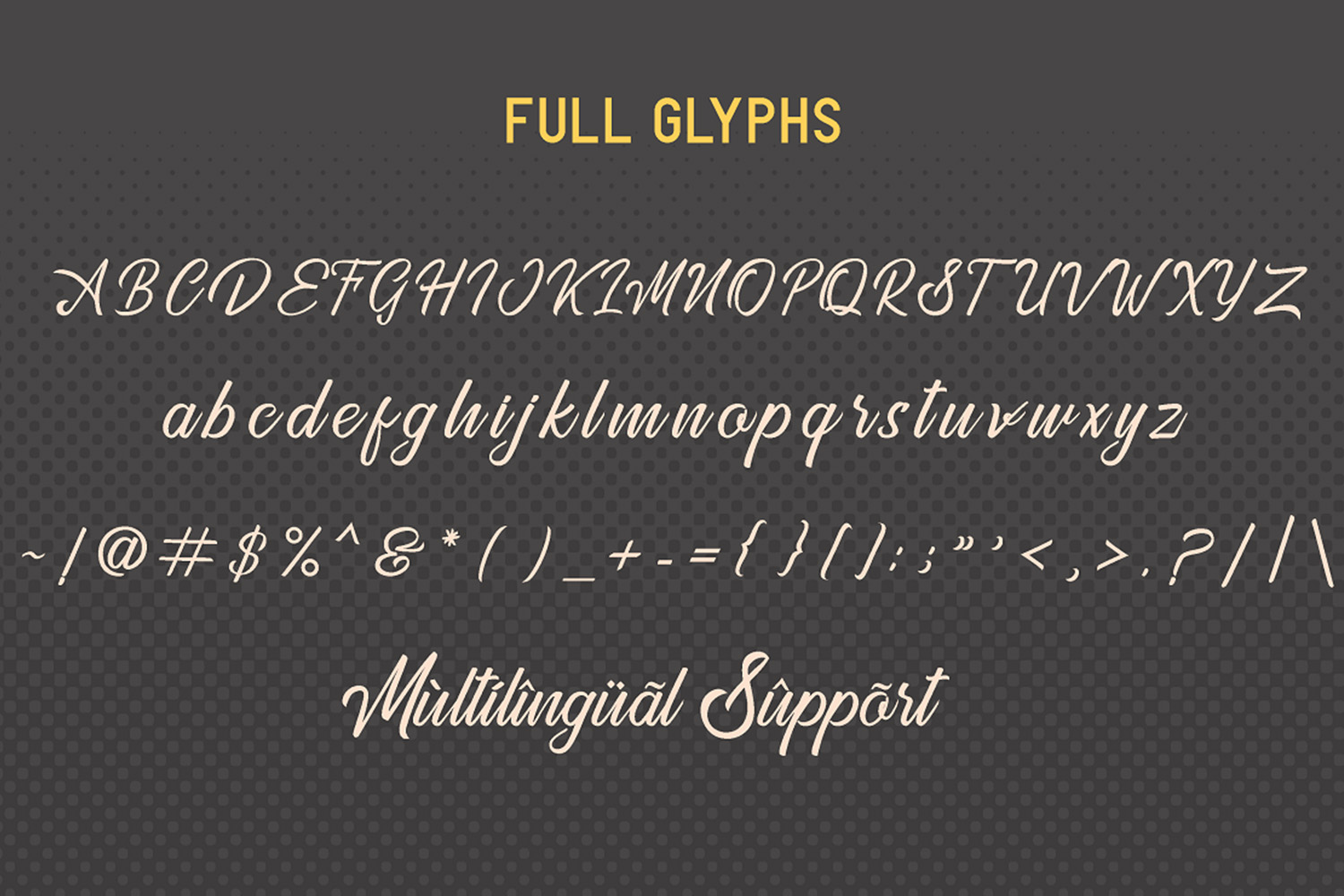 Golden Gate   Handcrafted Font Familyy example image 8
