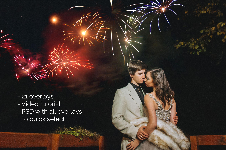 21 Firework Photo Overlays example image 4