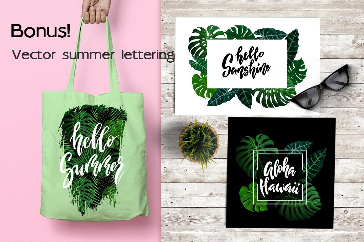 Tropical Summer Patterns + Bonus! example image 12