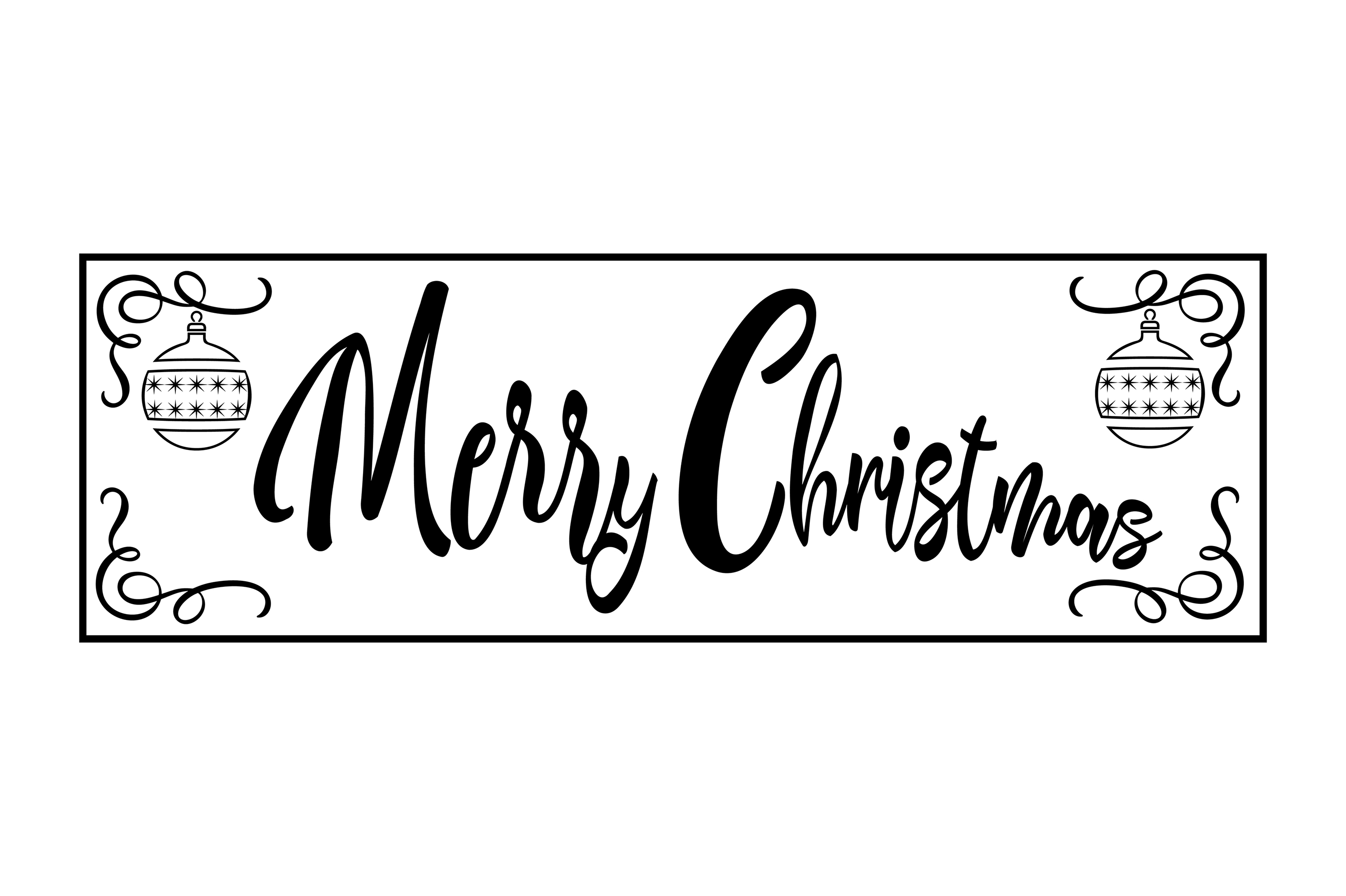 Christmas Porch Sign Bundle example image 20