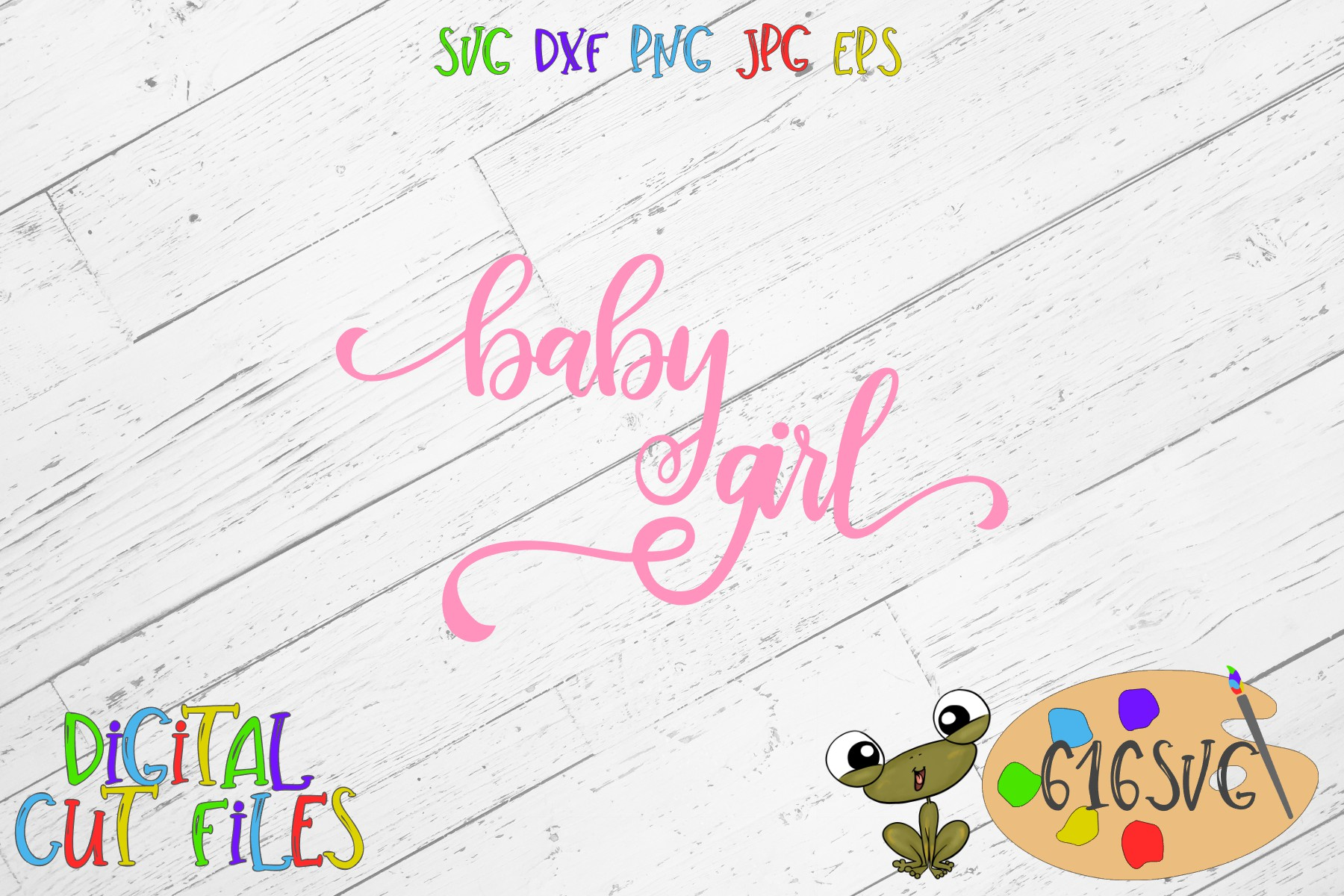 Baby Girl SVG example image 2