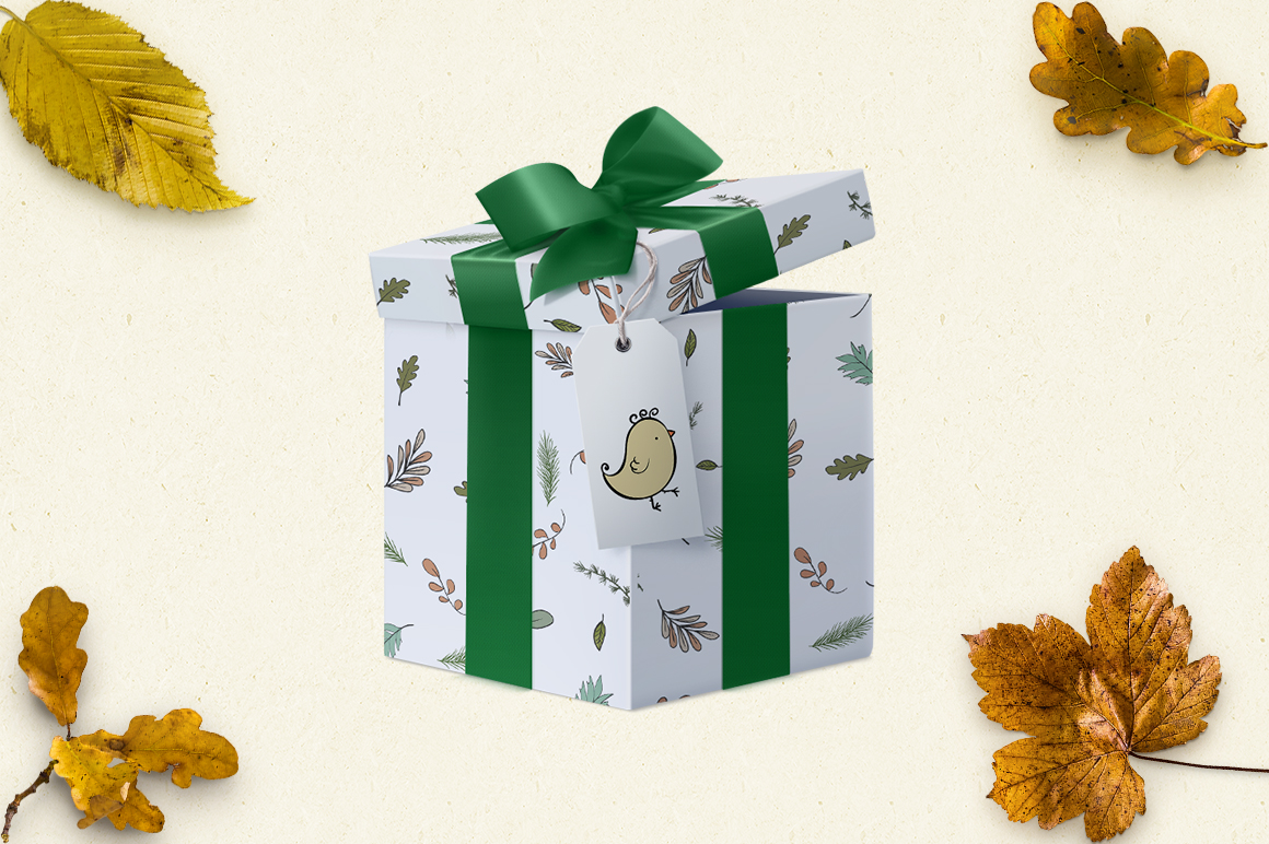 Autumn collection of hedgehogs example image 5