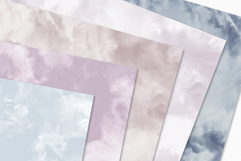Pastel Painterly Textures - 15 Brushstroke Backgrounds example image 4